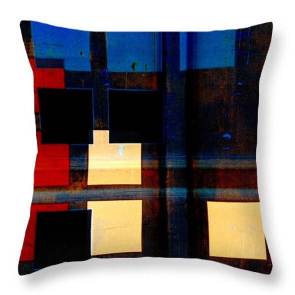 Night Moves Throw Pillow by Carol Leigh