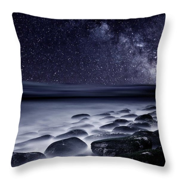Night shadows Throw Pillow by Jorge Maia