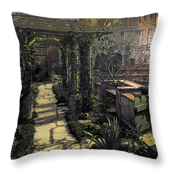 Night Throw Pillow by Terry Reynoldson