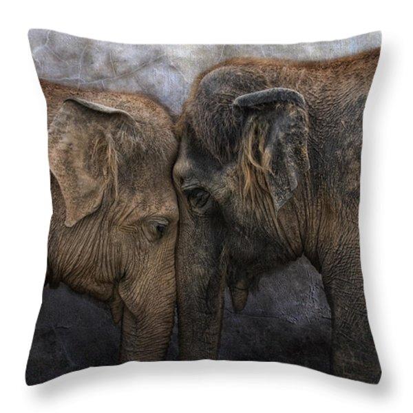 nighty night darling Throw Pillow by Joachim G Pinkawa