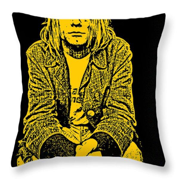 Nirvana No.07 Throw Pillow by Caio Caldas