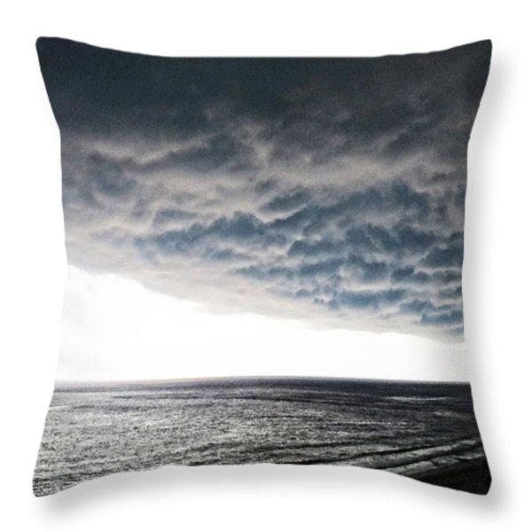 No Fear - Beach Art By Sharon Cummings Throw Pillow by Sharon Cummings