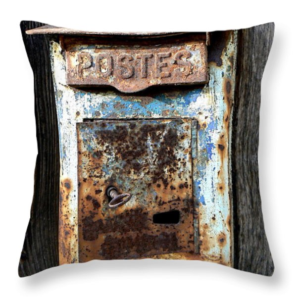 No Mail Today Throw Pillow by FRANCE  ART