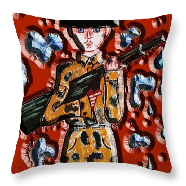 No More War Throw Pillow by Patrick J Murphy