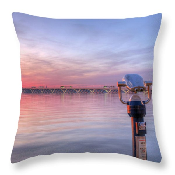 No Quarters Throw Pillow by JC Findley
