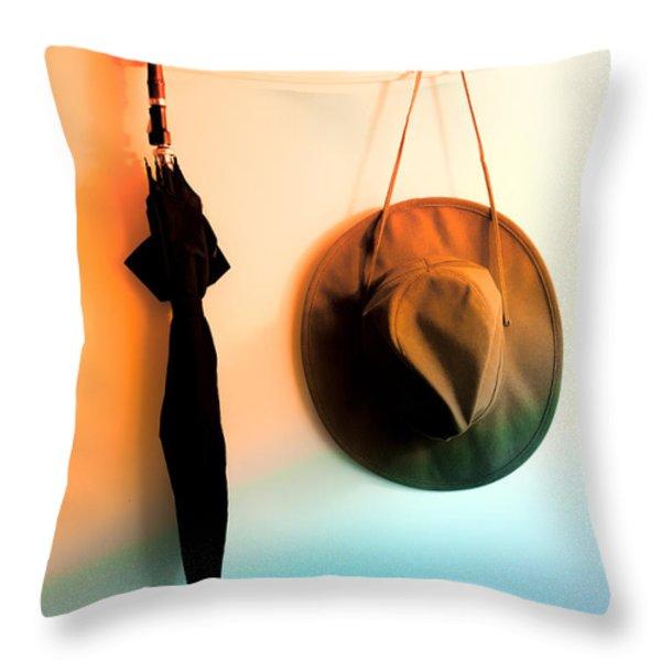 No Rain Today Throw Pillow by Bob Orsillo
