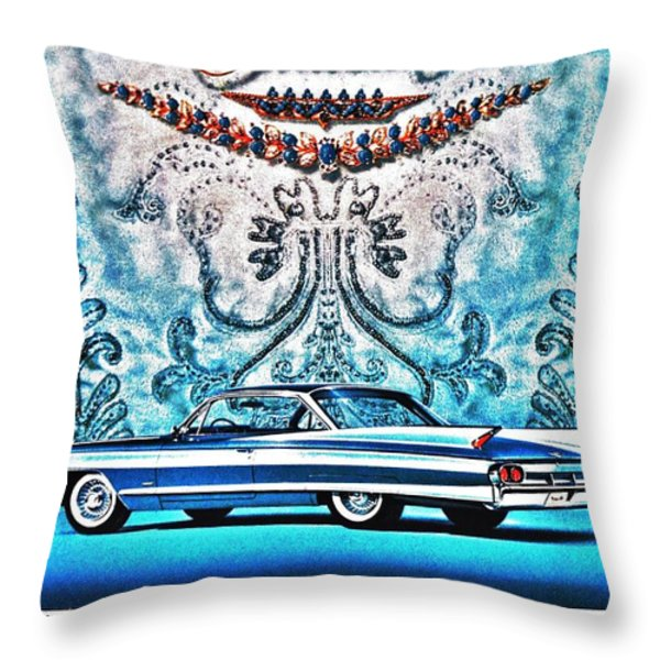 No Substitute Throw Pillow by Benjamin Yeager