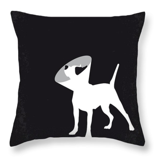 No079 My Snatch minimal movie poster Throw Pillow by Chungkong Art