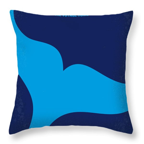 No084 My Star Trek 4 minimal movie poster Throw Pillow by Chungkong Art