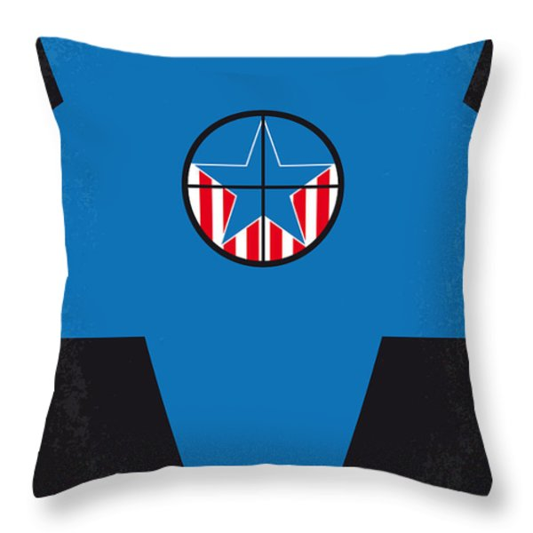 No111 My JFK movie poster Throw Pillow by Chungkong Art