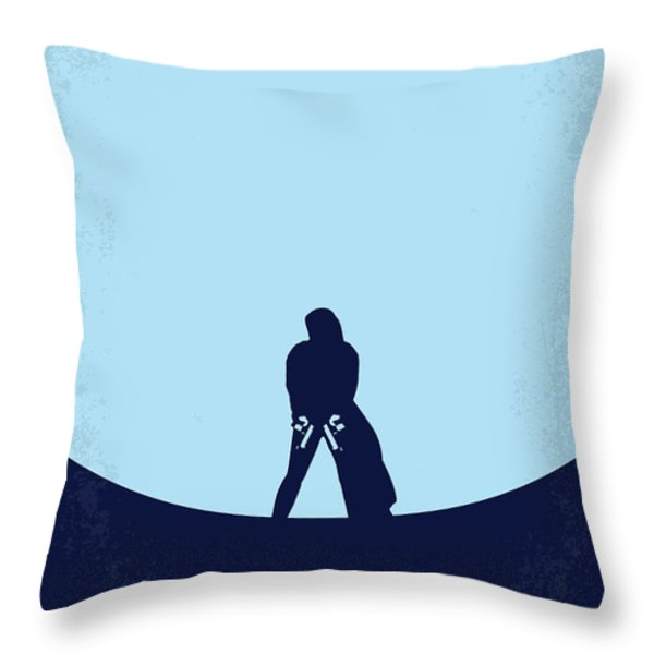 No122 My UNDERWORLD minimal movie Throw Pillow by Chungkong Art