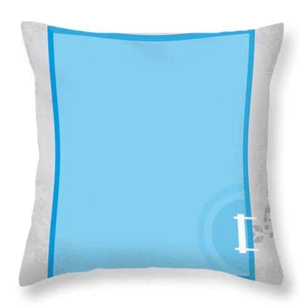 No137 My La Piscine Minimal Movie Poster Throw Pillow by Chungkong Art