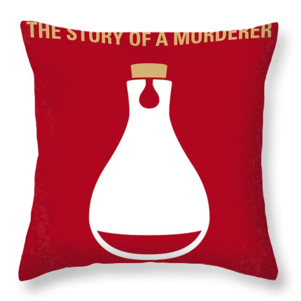 No194 My Perfume The Story of a Murderer minimal movie poster Throw Pillow by Chungkong Art