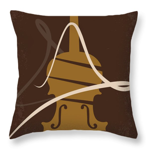 No268 My 12 years a slave minimal movie poster Throw Pillow by Chungkong Art