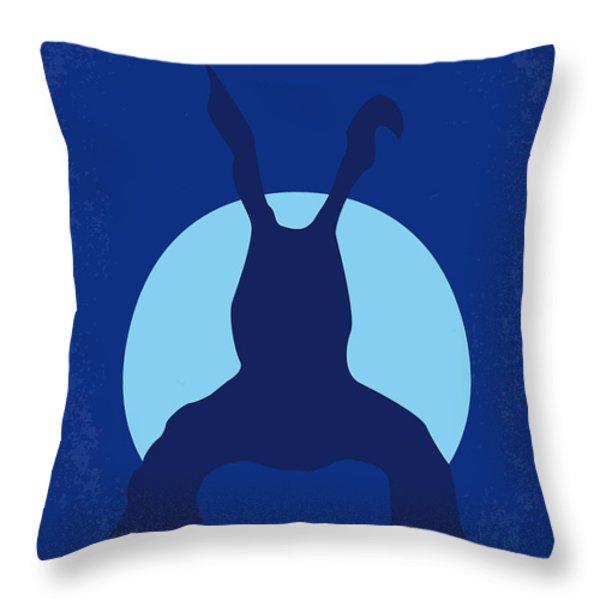No295 My Donnie Darko minimal movie poster Throw Pillow by Chungkong Art