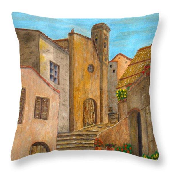Nola 2 Throw Pillow by Pamela Allegretto