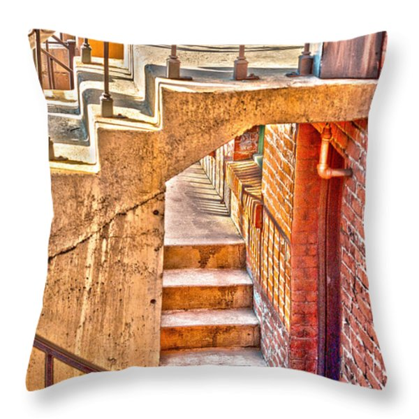 North By Northwest By Denise Dube Throw Pillow by Denise Dube