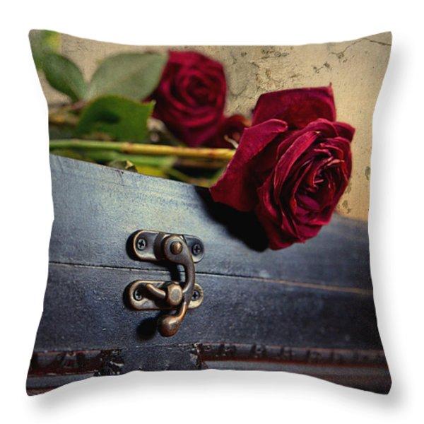 Nostalgia Throw Pillow by Maria Angelica Maira