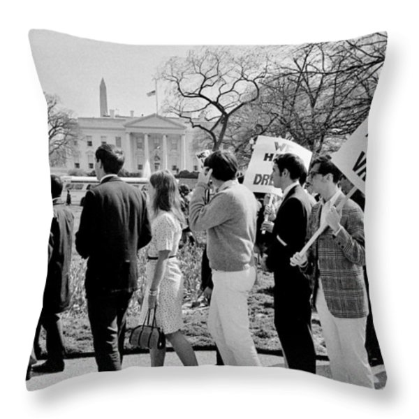 Not In Vain Throw Pillow by Benjamin Yeager