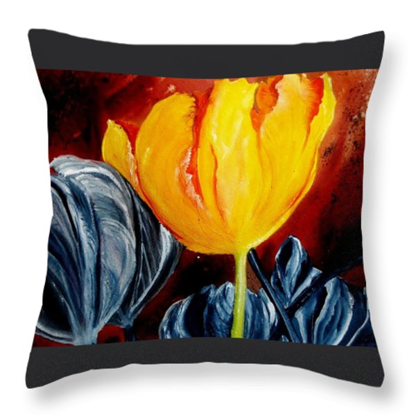 Not Quite Throw Pillow by Lil Taylor
