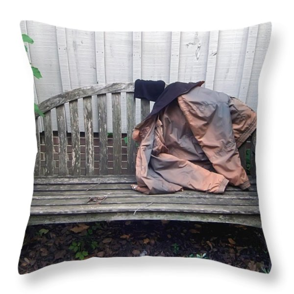 Now I Lay Me Down... Throw Pillow by Brian Wallace