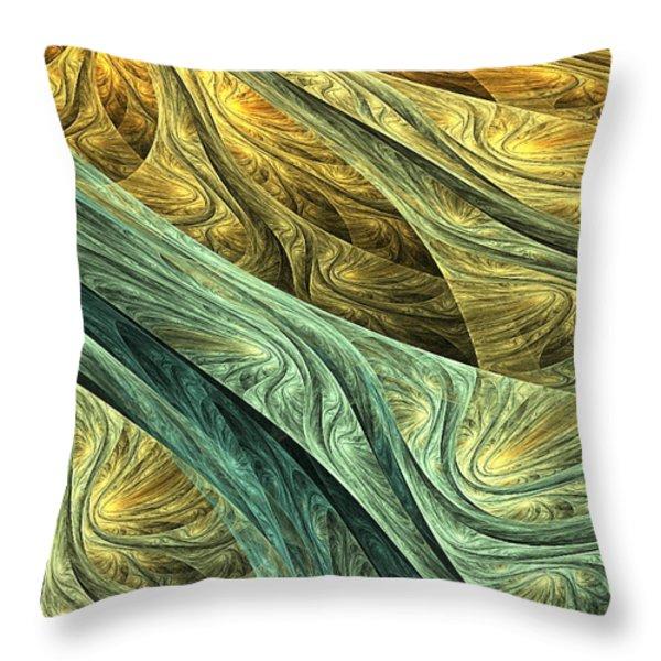 Nowhere Throw Pillow by Lourry Legarde