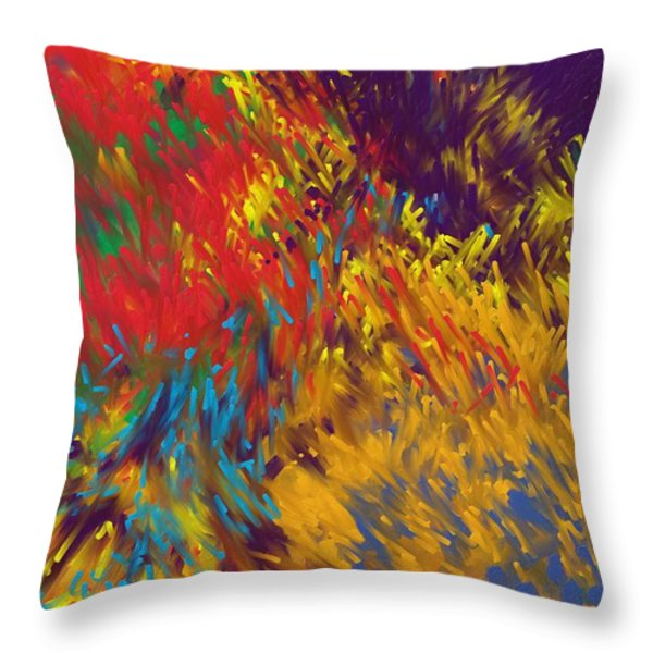 Obnoxion Throw Pillow by Ben Thompson