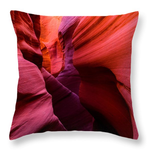 Obscure Escalante Throw Pillow by Chad Dutson