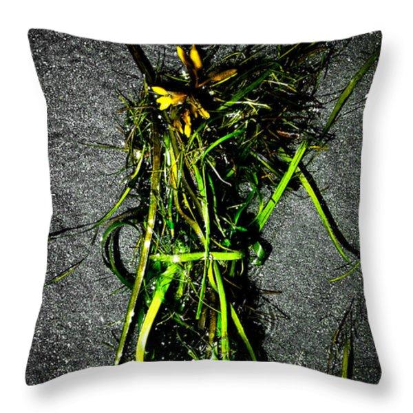 Ocean Bouquet 2 Throw Pillow by Venetta Archer