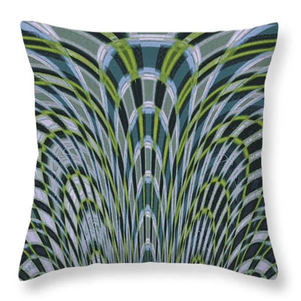 Ocean Dream Throw Pillow by Ben and Raisa Gertsberg