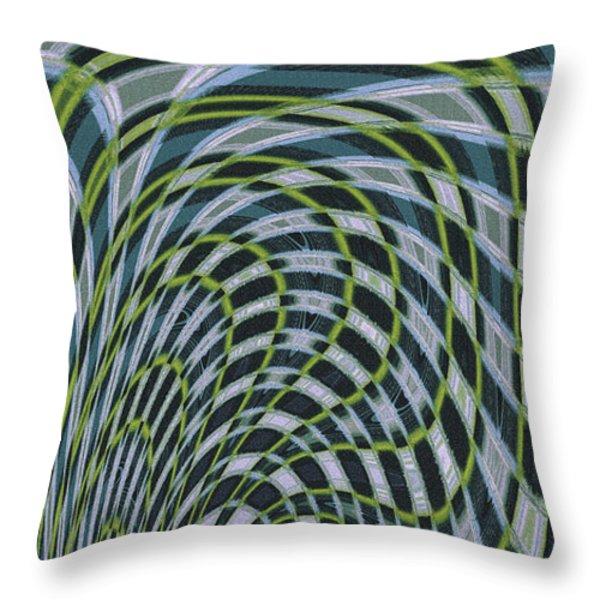 Ocean Dream Throw Pillow by Ben and Raisa Gertsberg