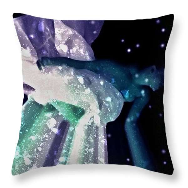Ocean Of Emptiness Throw Pillow by Jessica Shelton