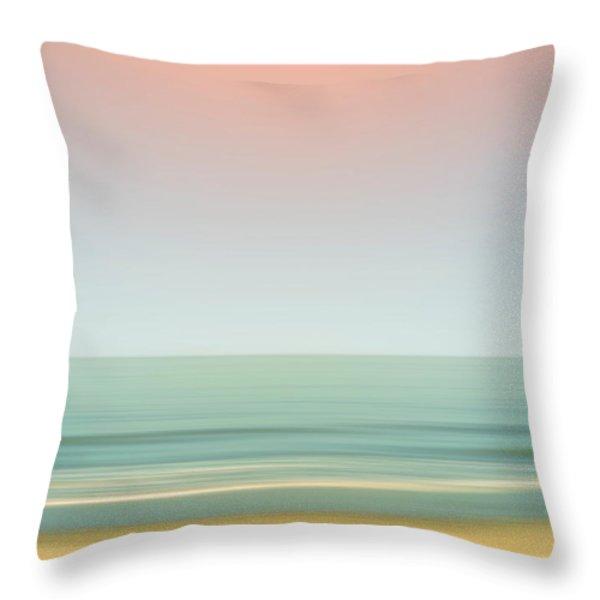 Ocean Throw Pillow by Wim Lanclus