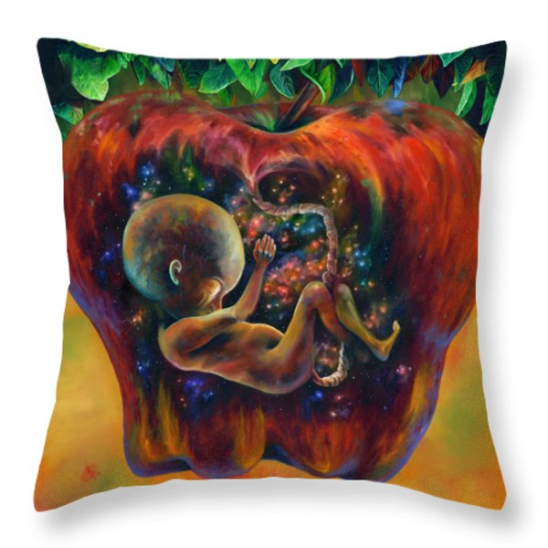 Of Knowledge Throw Pillow by Kd Neeley