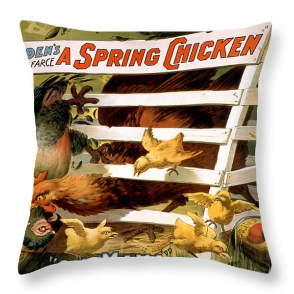 Oh Mama Throw Pillow by Terry Reynoldson