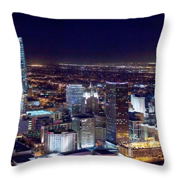 Oks001-9 Throw Pillow by Cooper Ross