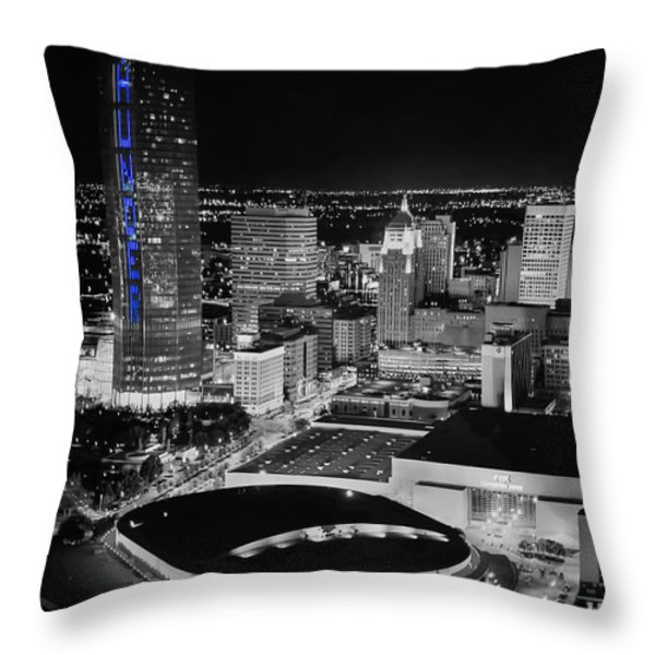 OKS0055 Throw Pillow by Cooper Ross