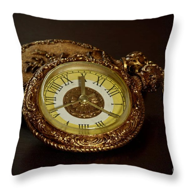 Old Grandfather Time Throw Pillow by Inspired Nature Photography By Shelley Myke