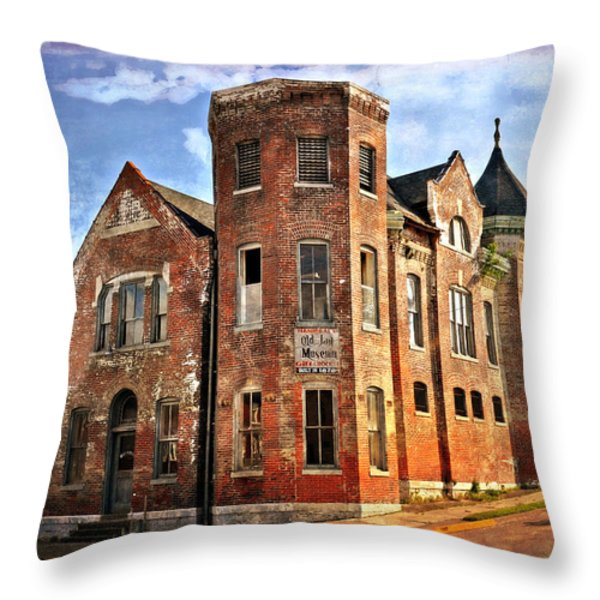 Old Mill Museum Throw Pillow by Marty Koch