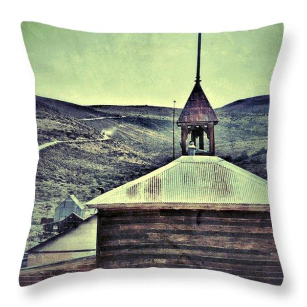 Old Schoolhouse Throw Pillow by Jill Battaglia