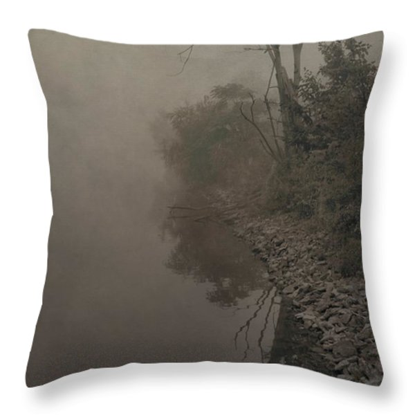 Old Soul Throw Pillow by Dan Sproul