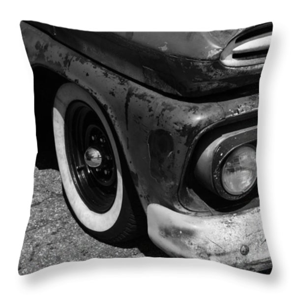 Old Timer Throw Pillow by Luke Moore