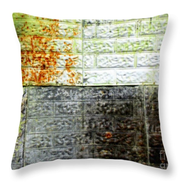 Older Days Throw Pillow by France Laliberte