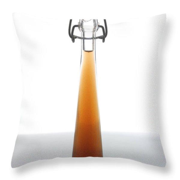 Olive Oil Throw Pillow by Bernard Jaubert