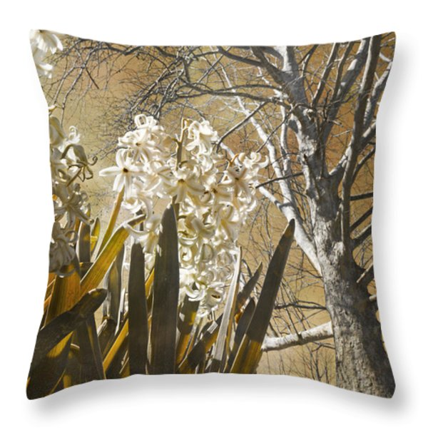 Ominous Throw Pillow by Betsy A  Cutler