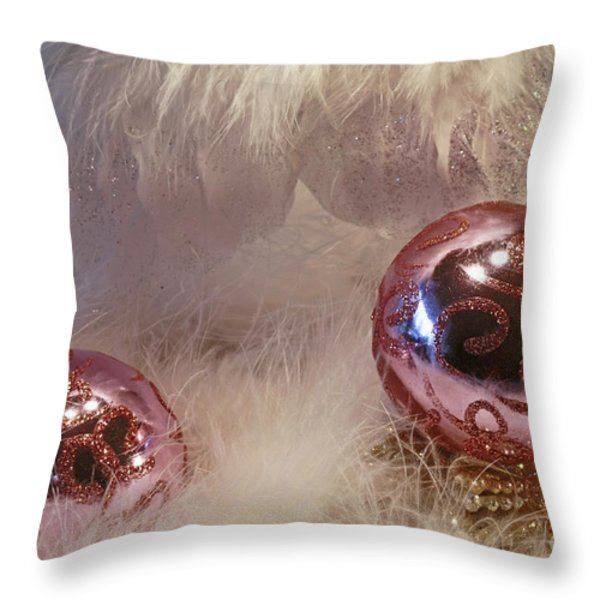 On The Wings Of An Angel Throw Pillow by Inspired Nature Photography By Shelley Myke