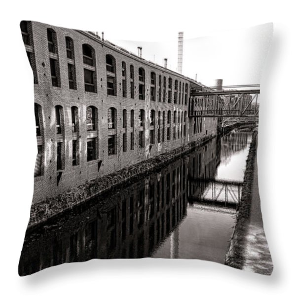 Once Industrial Georgetown Throw Pillow by Olivier Le Queinec