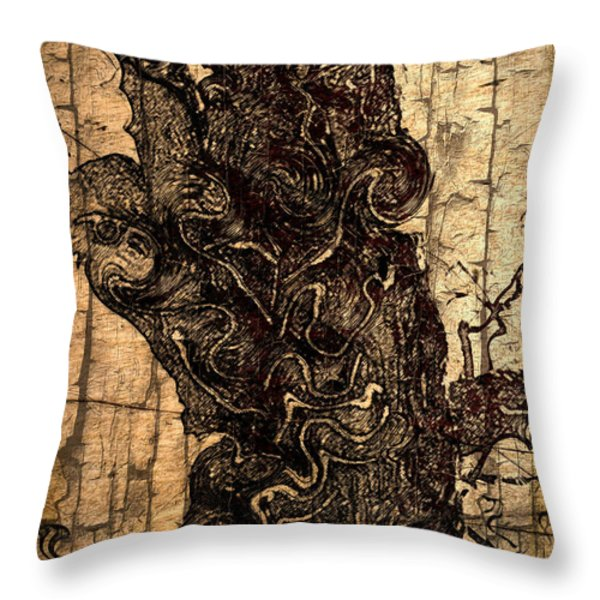 Once Upon A Time Throw Pillow by EricaMaxine  Price