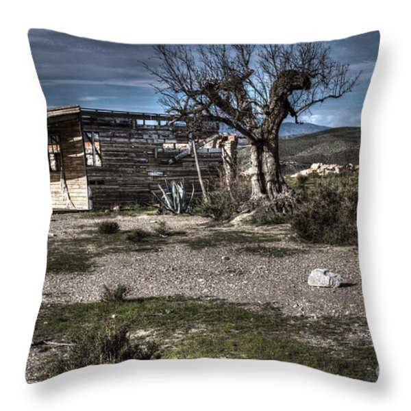 Once Upon A Time  Throw Pillow by Heiko Koehrer-Wagner