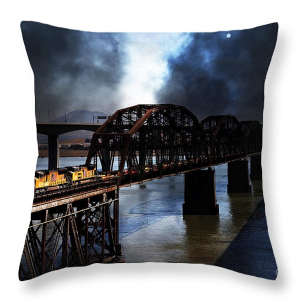 Once Upon A Time In The Story Book Town Of Benicia California - 5d18849 Throw Pillow by Wingsdomain Art and Photography